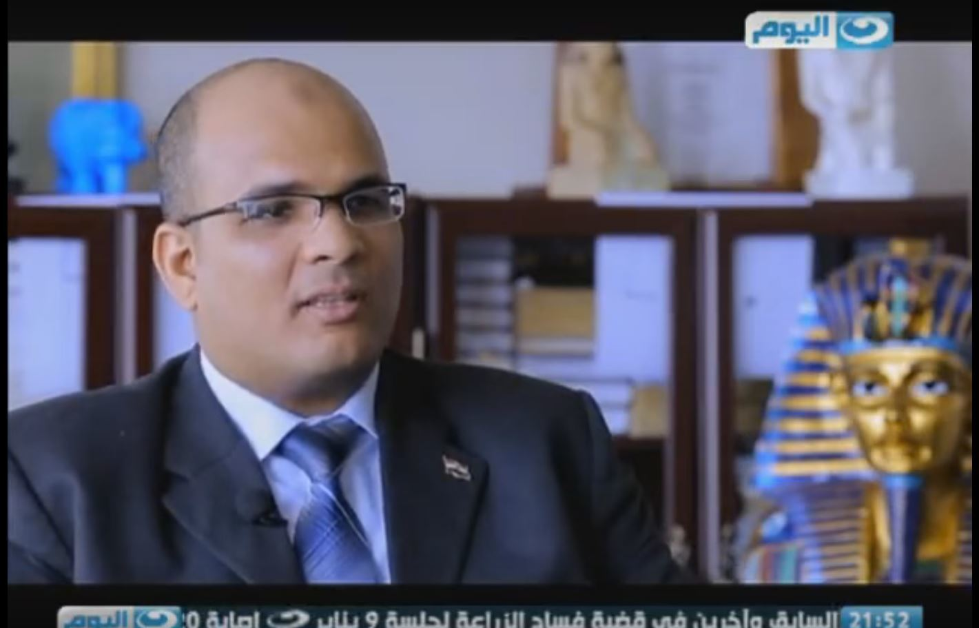 "Egypt TV - ""Egypt Can"" has made an interview with Dr. Sherif Farag in Montreal, Canada"